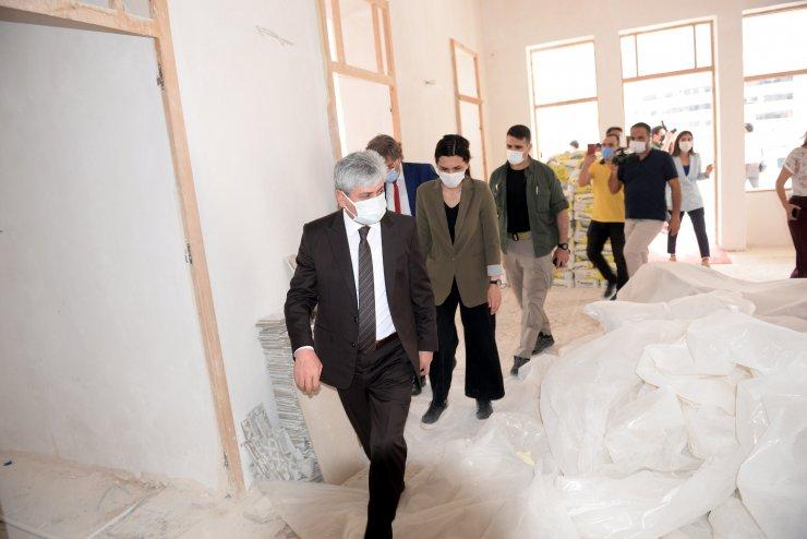 Hatay'da Tarihi Meclis Binası Ve Adalı Konağı Restorasyonunda Sona Gelindi