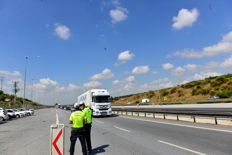 Adana'da Bayram Dönüşü Helikopterli Denetim
